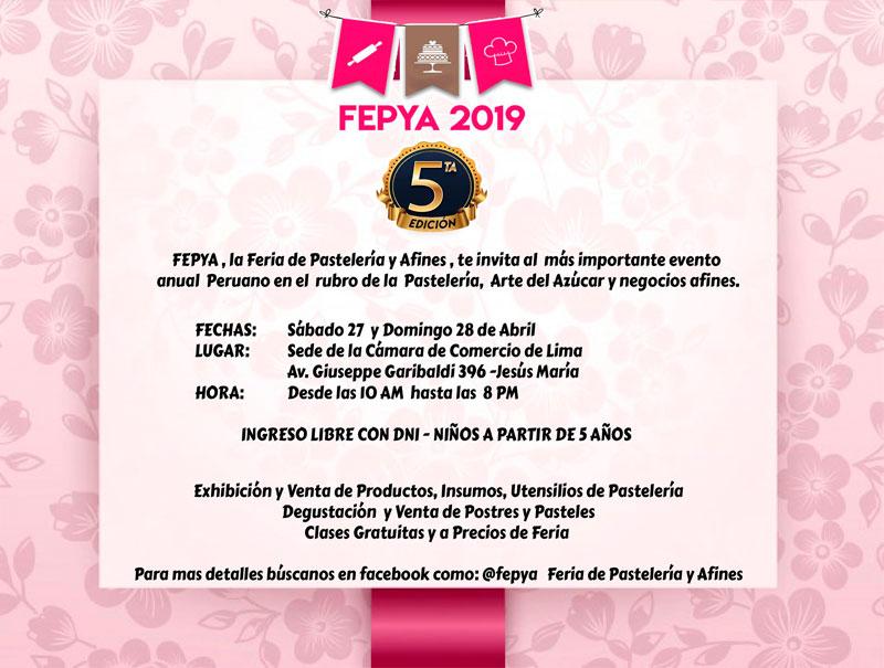 Invitación de los Organizadores de la FEPYA 2019 - Overflow.pe