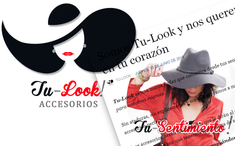 Desarrollo de imagen y mensaje de Tu-Look Accesorios - Overflow.pe