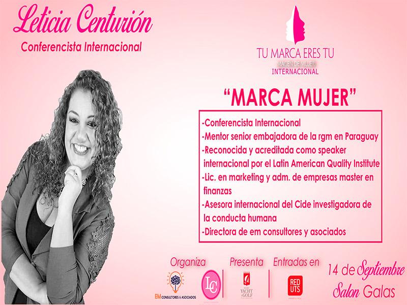Leticia Centurión - Expositora Tu Marca Eres Tu en Paraguay - Overflow.pe