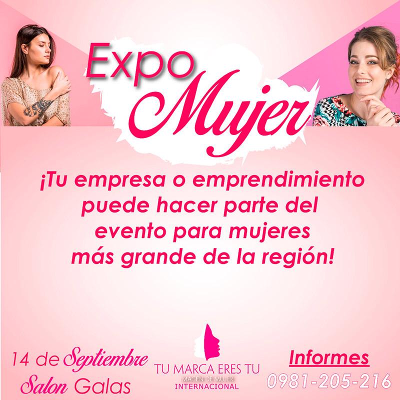 """Participa con tu negocio en la Expo Mujer dentro del Evento """"Tu Marca, Eres tú"""" en Paraguay - Overflow.pe"""