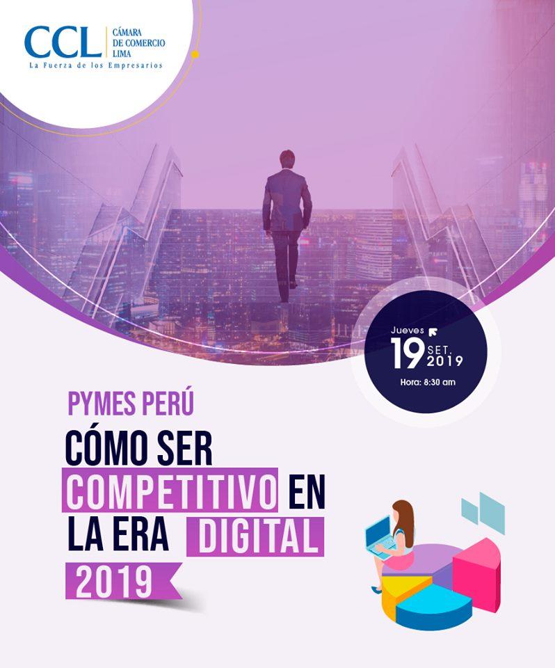 Cámara de Comercio de Lima inicia difusión de la XV Expopyme 2019 - Overflow.pe