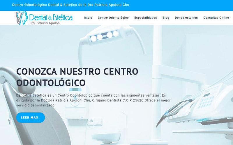 Dental y Estética : Sitio Web y Fanpage en Facebook - Overflow.pe