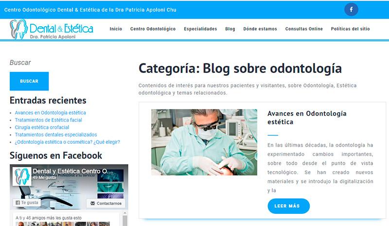 Revisa los artículos del Blog de DentalyEstetica.com