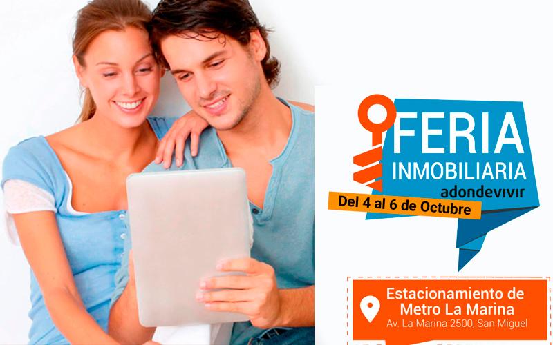 Feria Inmobiliaria Adonde Vivir - 4, 5 y 6 de Octubre 2019 - Overflow.pe