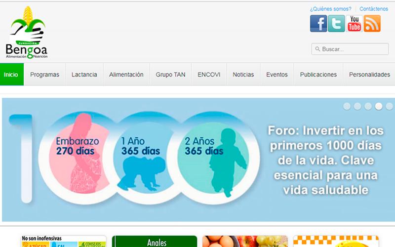https://www.fundacionbengoa.org/ - Portal de salud - Overflow.pe