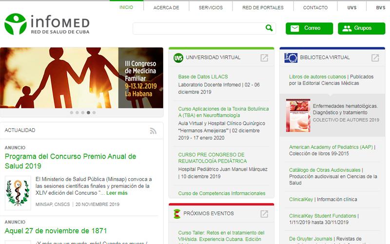 Infomed http://www.sld.cu/ - Portal de salud - Overflow.pe