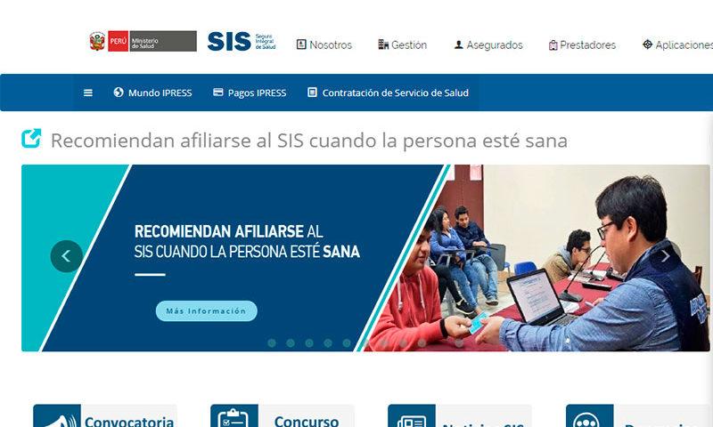 SIS Independiente y SIS Emprendedor - Overflow.pe