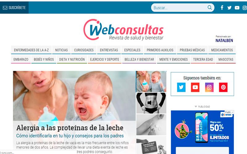 https://www.webconsultas.com/ - Portal de salud - Overflow.pe