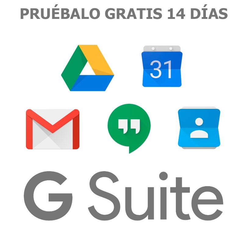 Correo electrónico profesional, almacenamiento online y mucho más. Elige tu plan de G Suite y pruébalo gratis durante 14 días