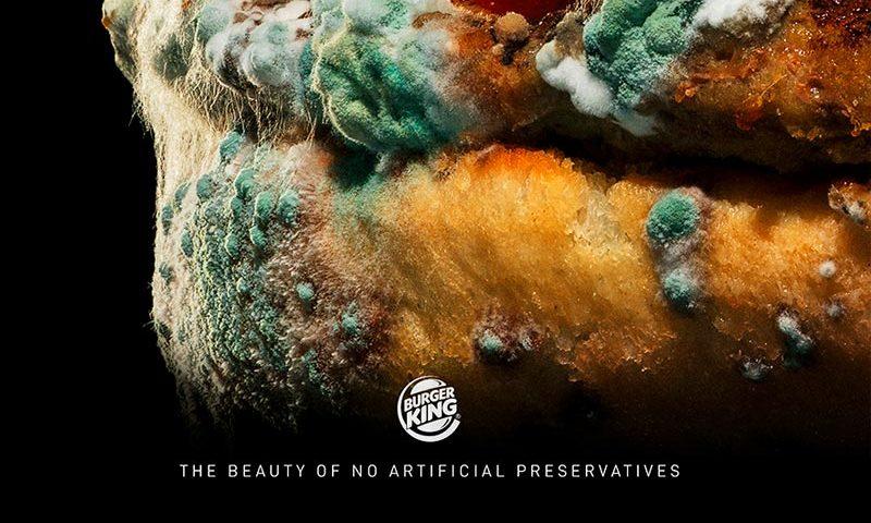 La belleza de los conservantes no artificiales una campaña de Burger King Overflow.pe