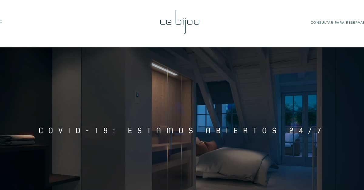Le Bijou el Hotel Suizo que ofrece hospedaje con cuarentena de lujo