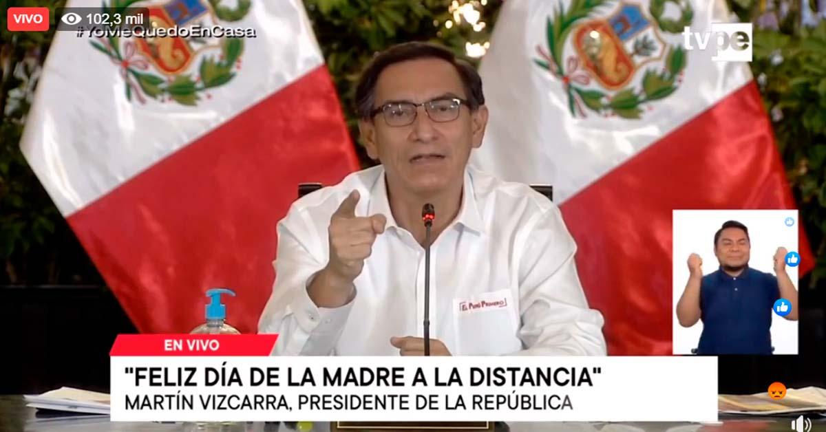 Nuevas medidas del Gobierno peruano el día 08-05-2020
