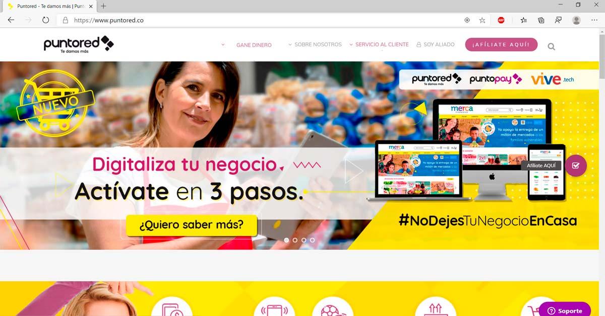 PuntoRed en Colombia es una Fintech que ayuda a los emprendedores tienderos