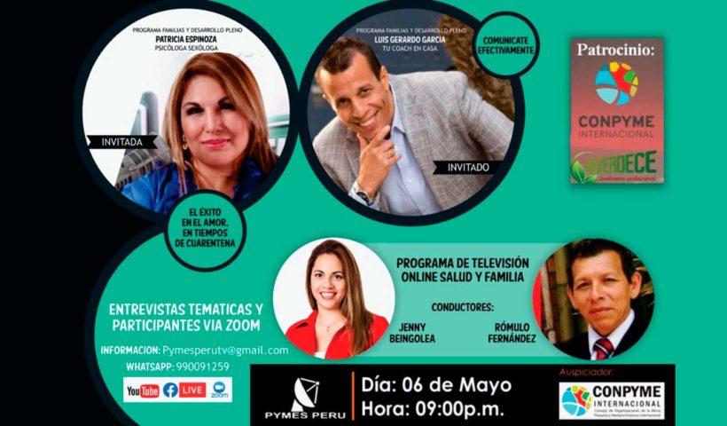 Pymes Perú RTV - Segmento Salud y Familia Edición 06-05-2020