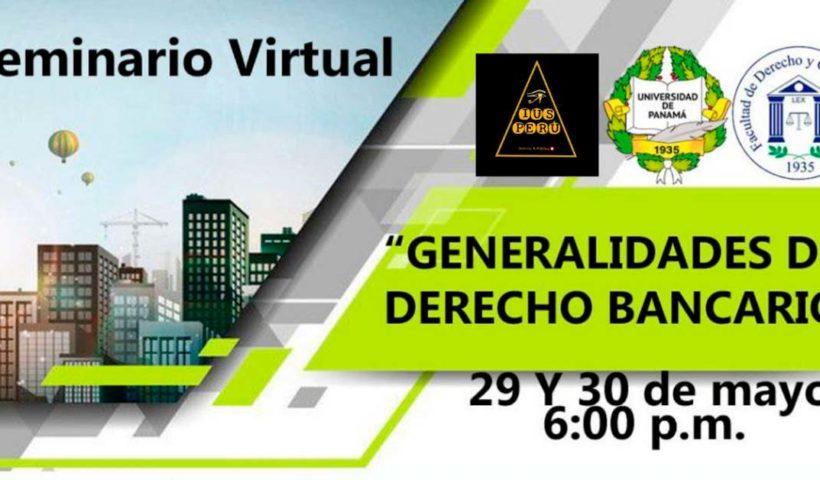 Seminario Virtual Generalidades del Derecho Bancario
