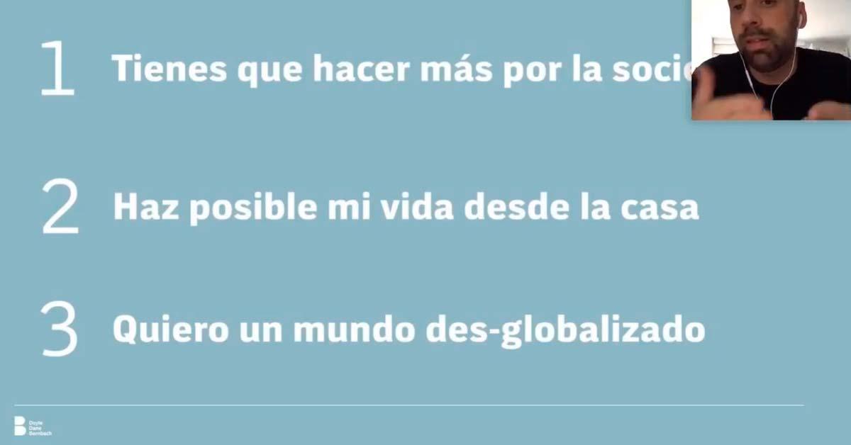 Los tres mensajes del consumidor a las marcas - Juan Luis Isaza