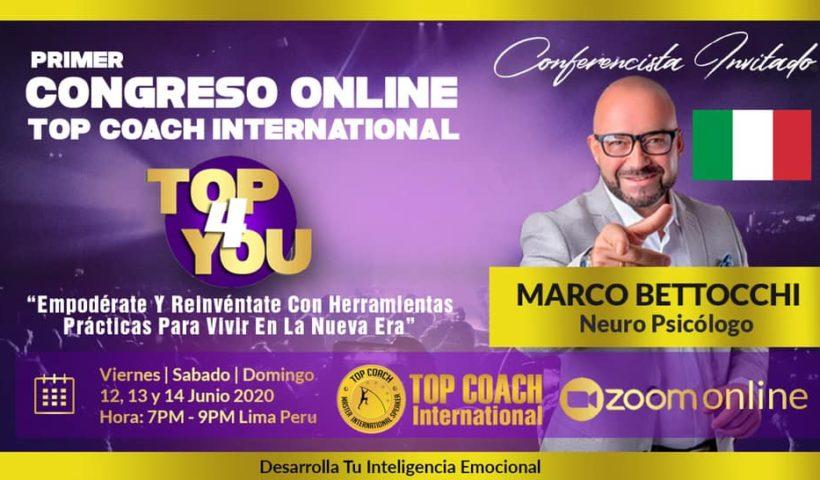 Primer Congreso Online 2020 de Top Coach International