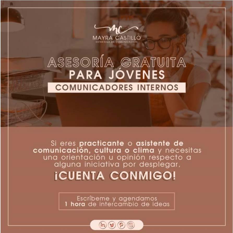 Mayra Castillo brinda asesoría gratuita para jóvenes comunicadores internos - Invitada Overflow Emprende