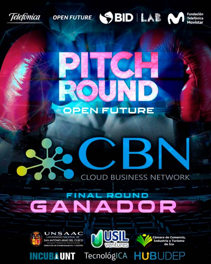 CBN Technologies ganador del Pitch Round de Telefónica Open Future 2020