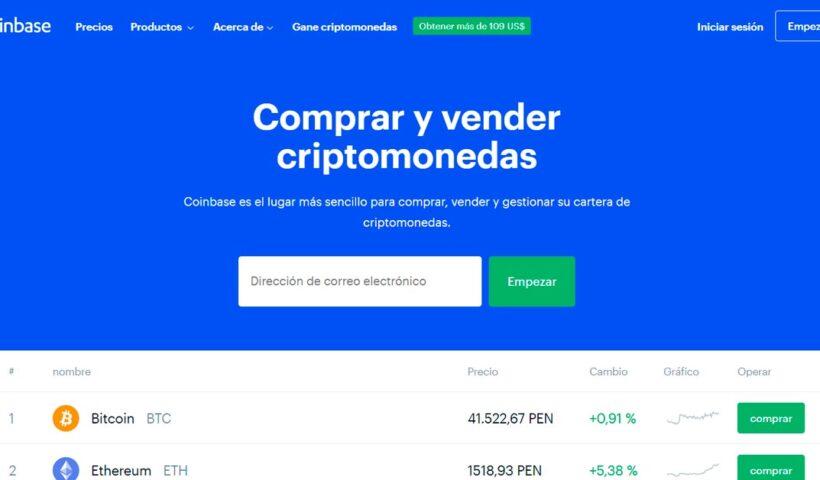 Coinbase aprende y negocia con criptomonedas - Overflow.pe