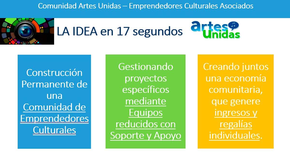Comunidad Artes Unidas - La idea en 17 segundos - Overflow.pe