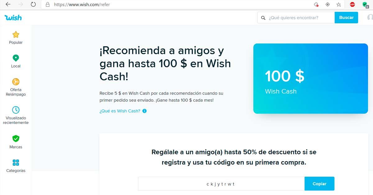 Gana cien dólares para comprar con wish - Alerta Emprendedora Overflow.pe