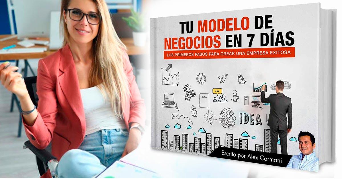Libro digital Tu modelo de negocio en 7 días - Tienda Overflow.pe