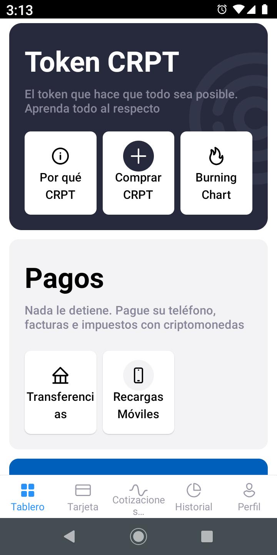 Comprar Crypteriums - Realizar pagos como Transferencias Bancarias y recargas de celular - Overflow.pe