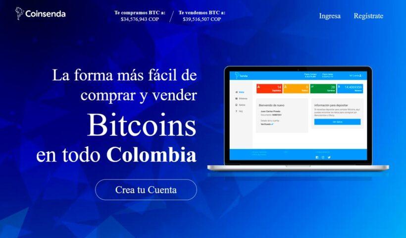 Coinsenda para cambiar bitcoins y pesos en Colombia - Aplicaciones para emprendedores - Overflow.pe