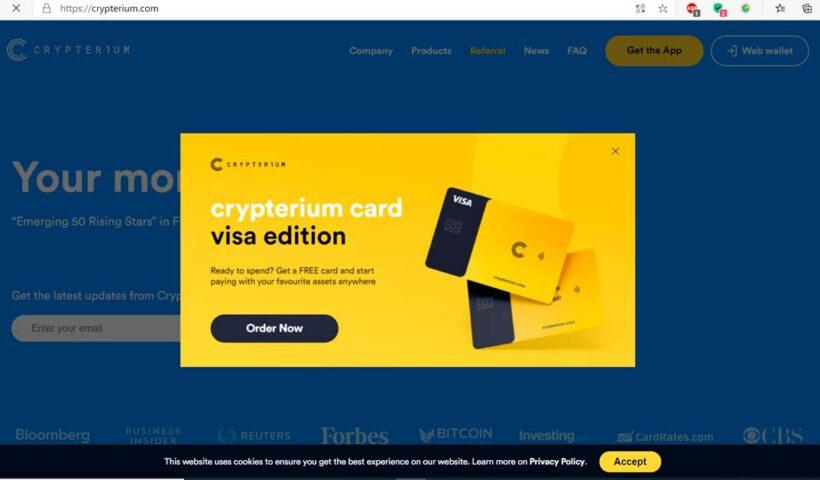 Crypterium Edición VISA - Aplicaciones para Emprendedores - Overflow.pe