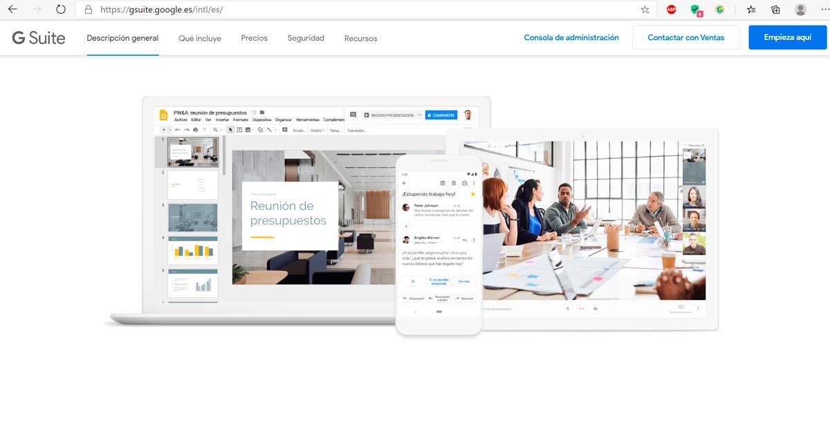 GSuites para empresas: Mayor potencia para tu negocio - Aplicaciones para Emprendedores - Overflow.pe
