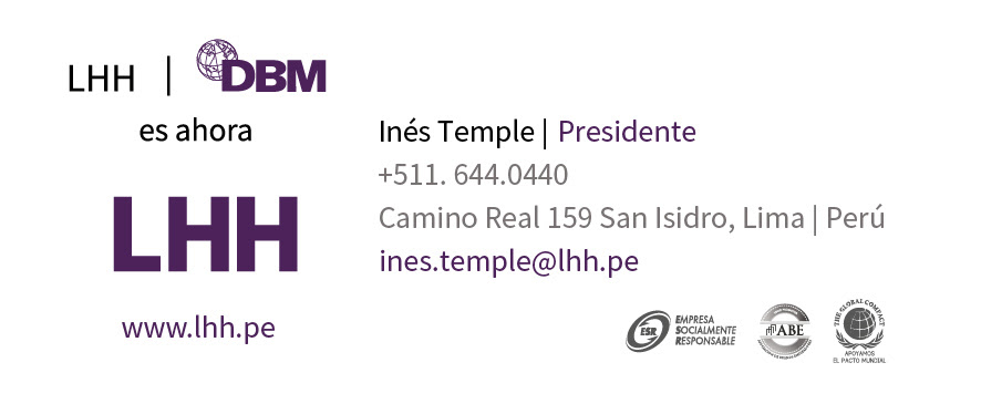 Inés Temple - CEO LHH