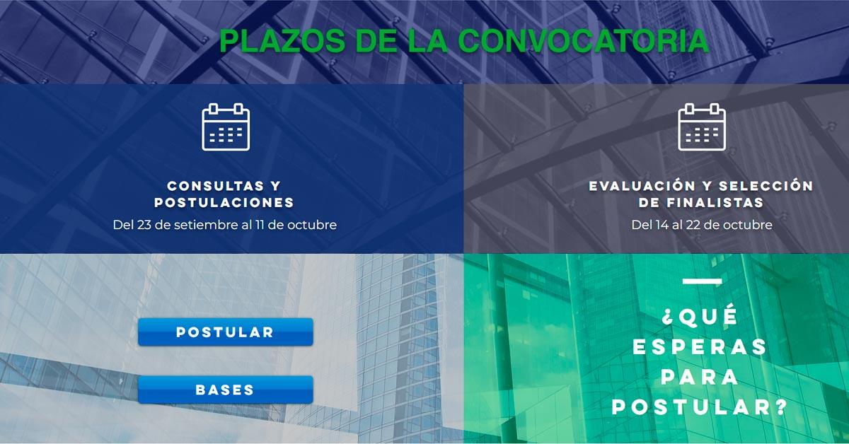 Plazos Convocatoria de Innovación Abierta - Overflow.pe