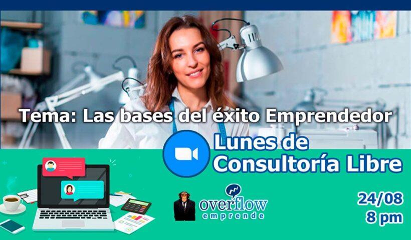 Webinar Bases del éxito Emprendedor - Webinars Overflow.pe