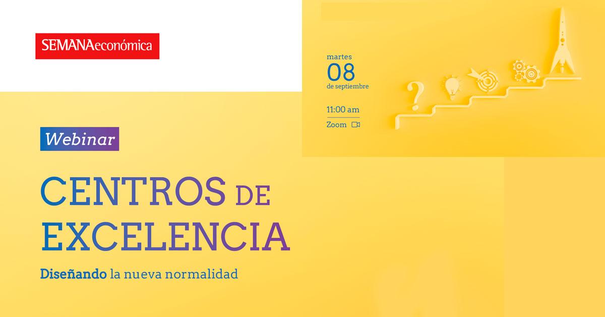 Webinar Centros de Excelencia Diseñando la nueva normalidad - Alerta Emprendedora - Overflow.pe