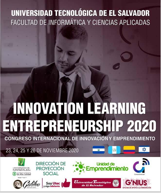 Congreso Innovation Learning Entrepreneuership 2020 en El Salvador