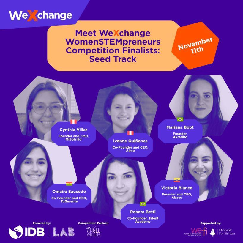Participantes latinoamericanas en el we xchange - Alerta Emprendedora Overflow.pe