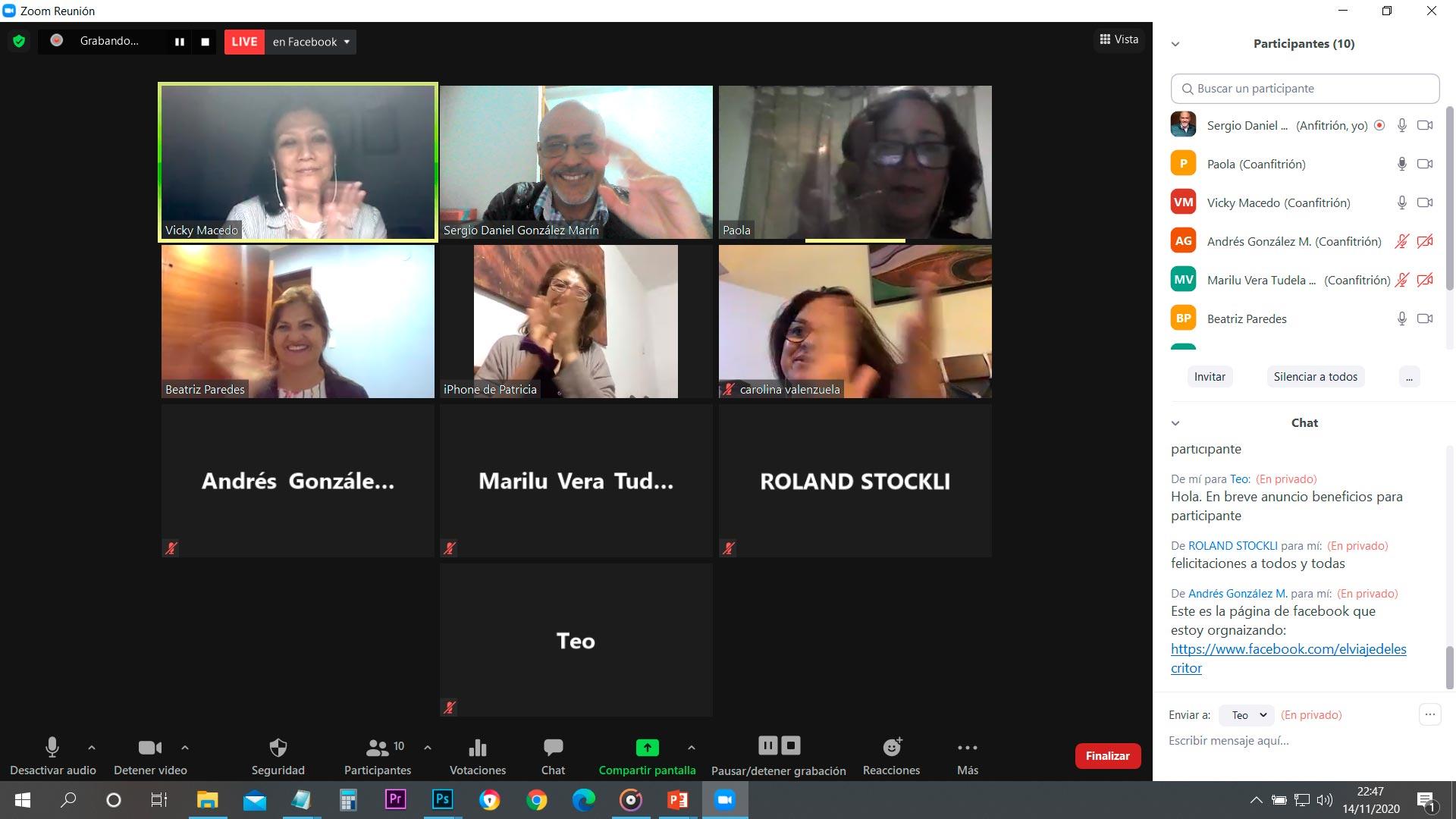 Sábados Caza Talentos - Buscando Emprendedores - 14-11-2020 - Overflow.pe
