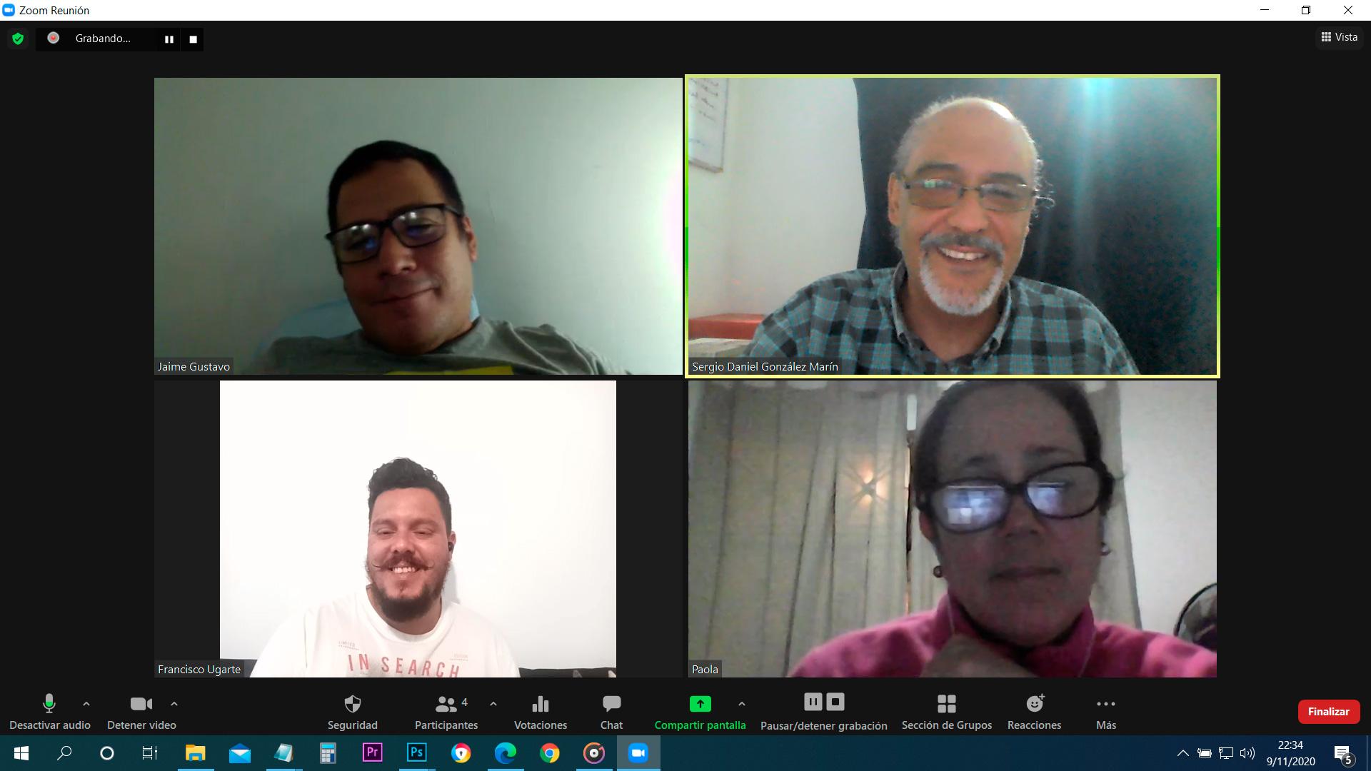 Participantes de la 3era sesión del Webinar Formas de Ganar Dinero Digital