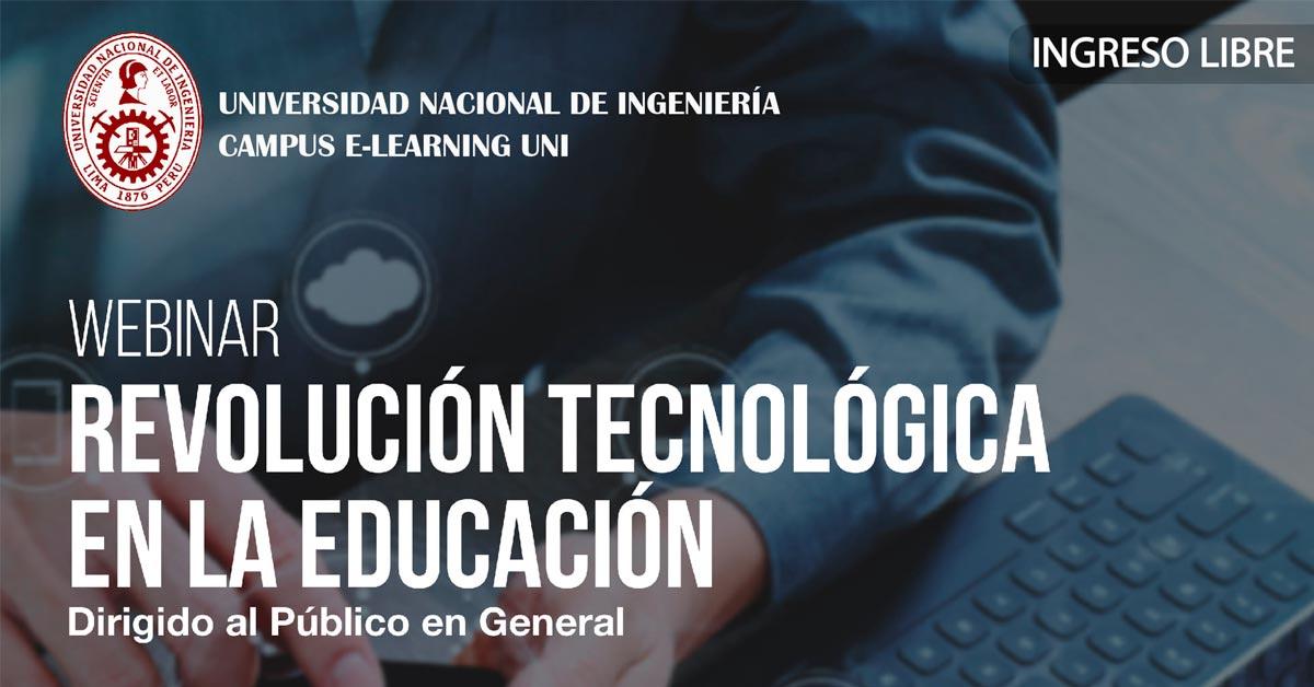Webinar Revolución tecnológica en la educación - Alerta Emprendedora - Overflow.pe
