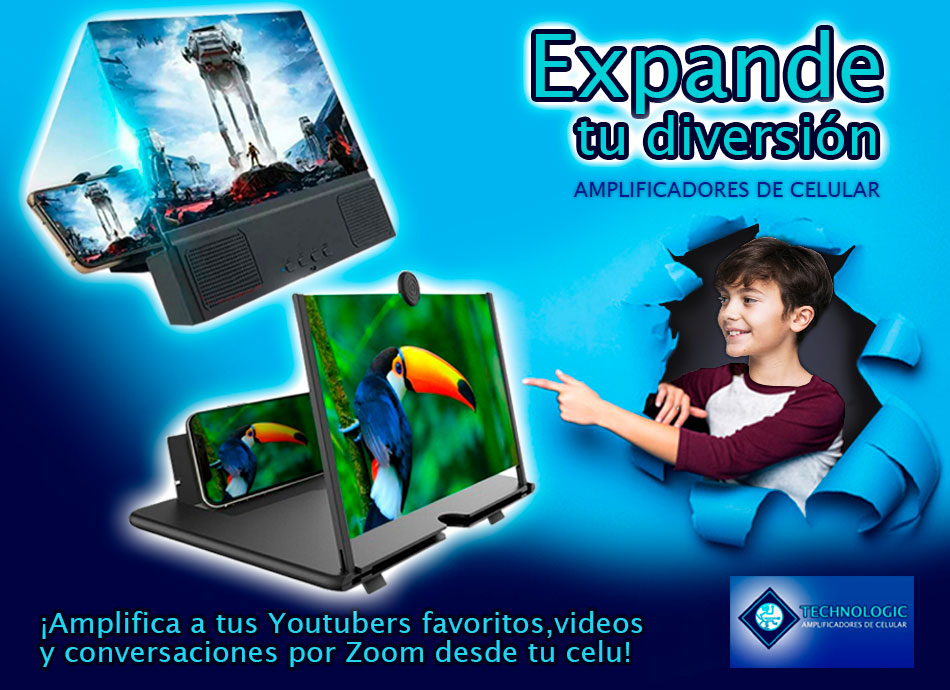 Banner promocional Amplificadores de celular - Technologic - Portafolio Overflow Emprende