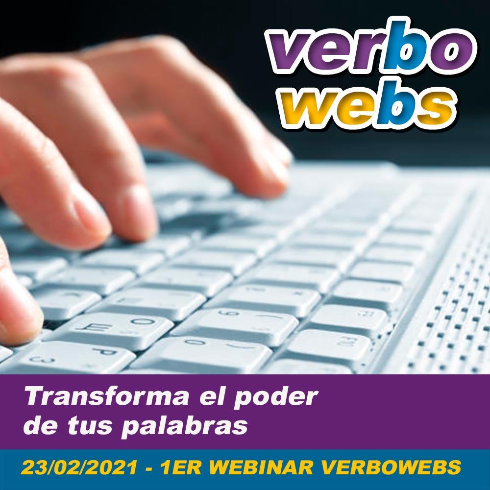 El primer Webinar de VerboWebs.com inicia el 23/02/2021