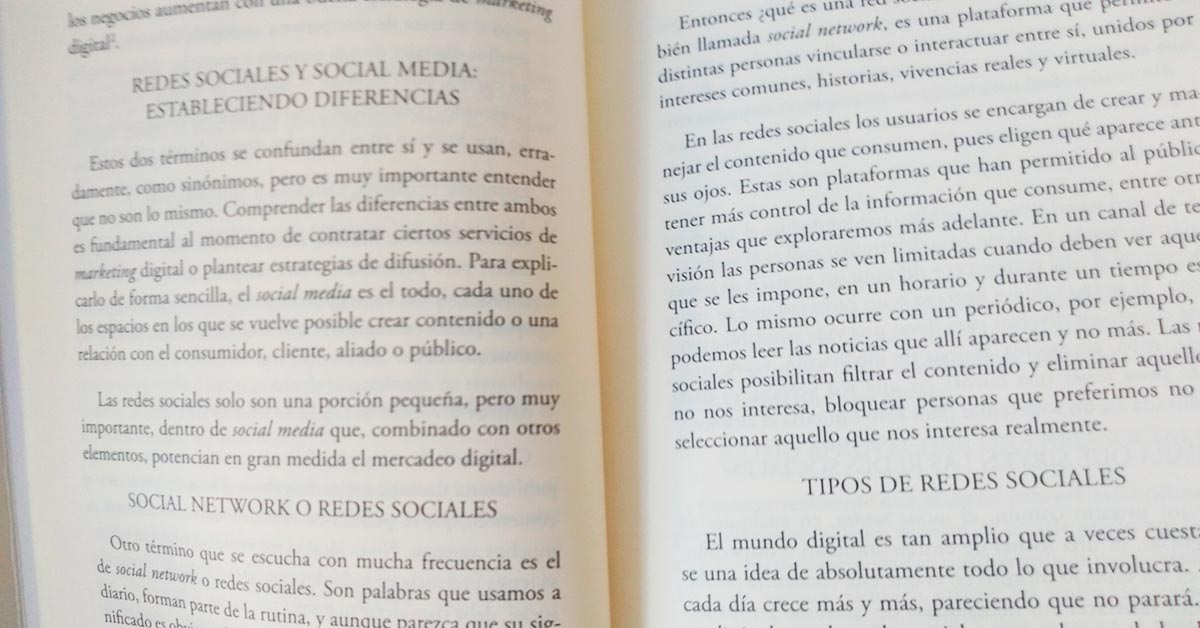 Redes sociales y Social Media en libro de Nóstika - Libros recomendados - Overflow.pe