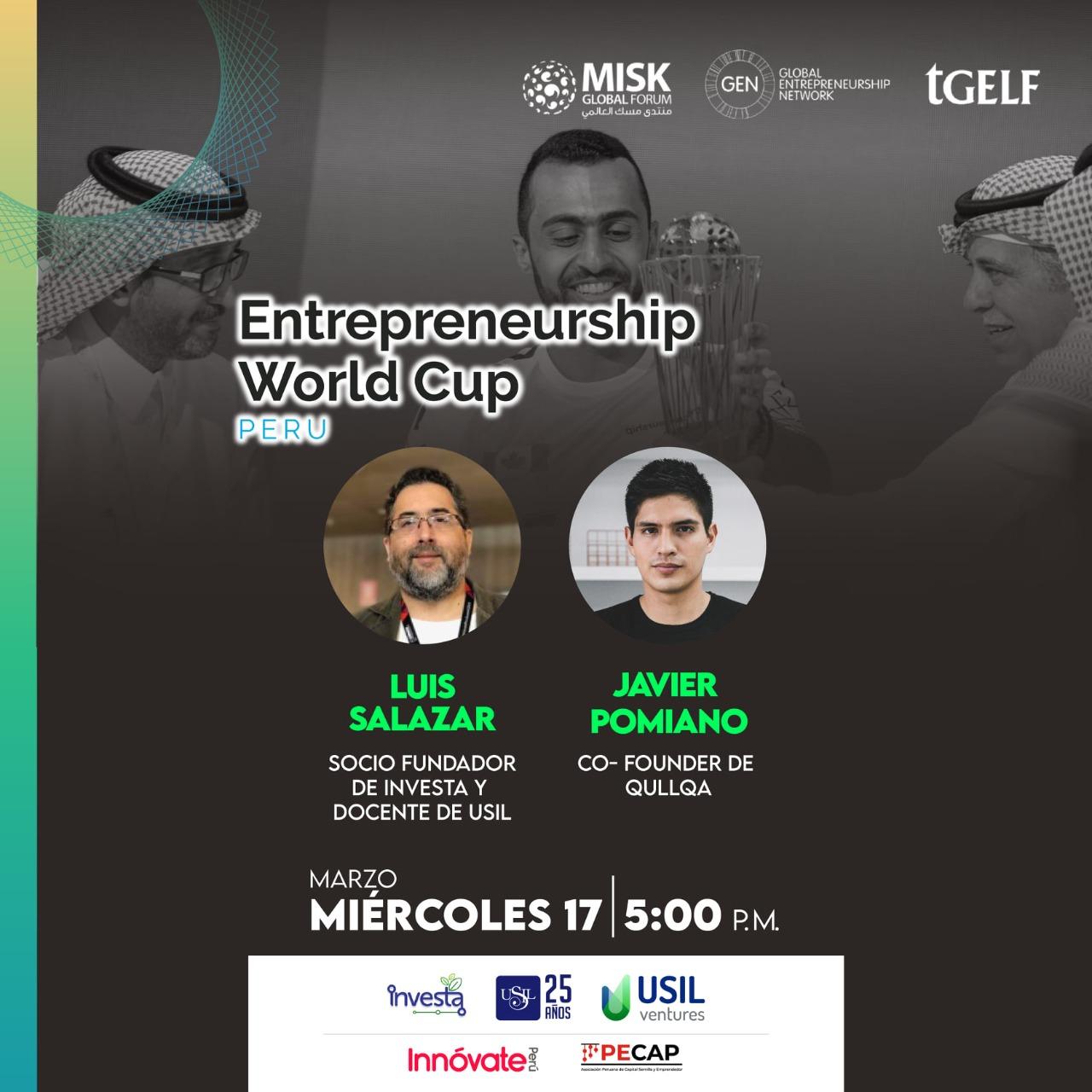 Entrepreneurship World Cup 2021 para emprendedores peruanos