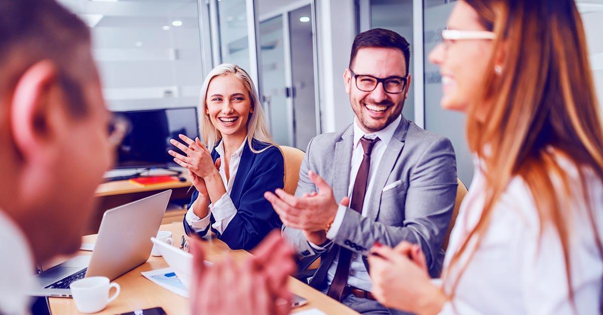 Gestión del agradecimiento en equipos de trabajo