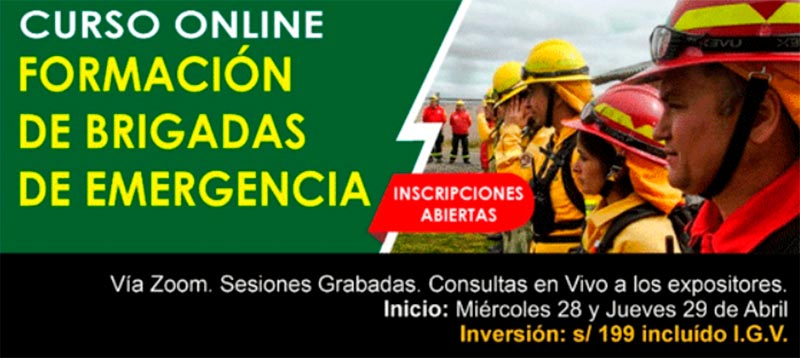 Curso Online Brigadas de emergencia