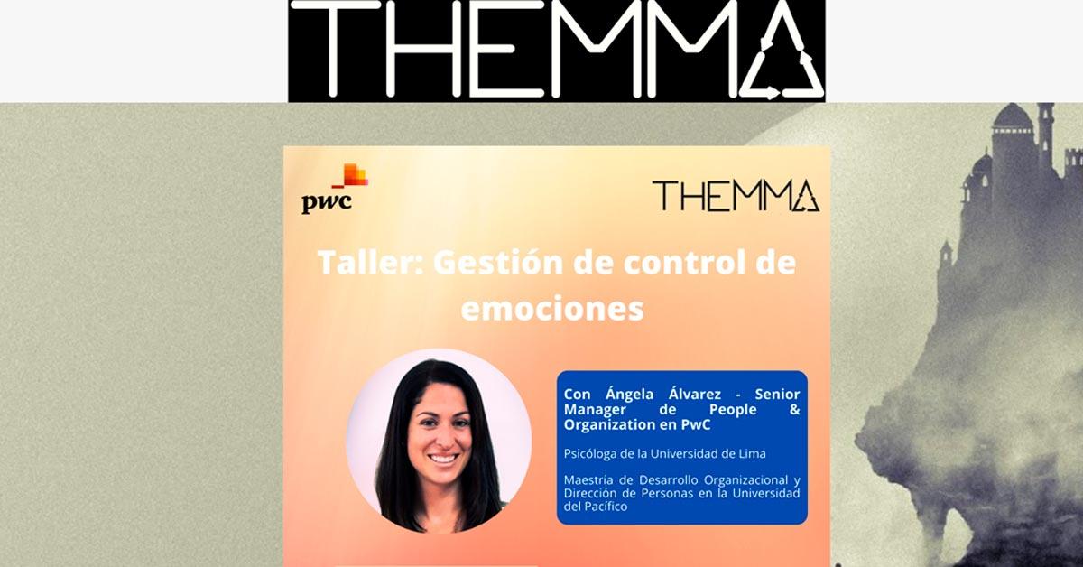 Taller de gestión de control de emociones Themma y PwC
