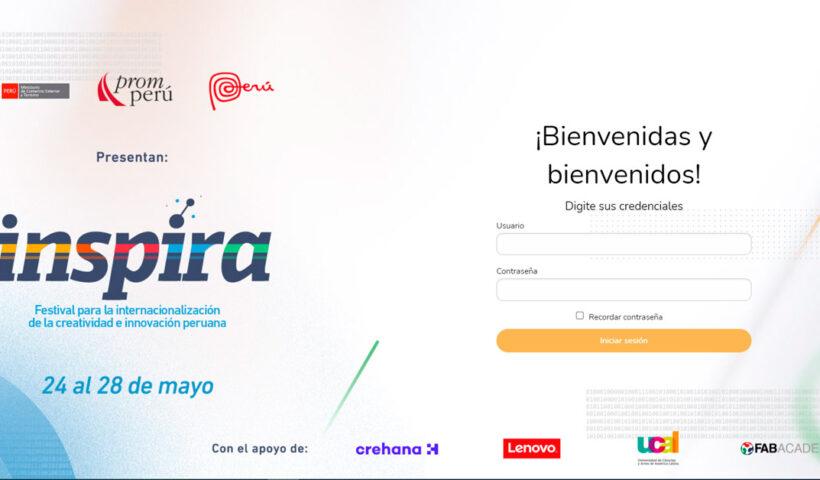 Festival Inspira del 24 al 28 de Mayo sobre Innovación Peruana