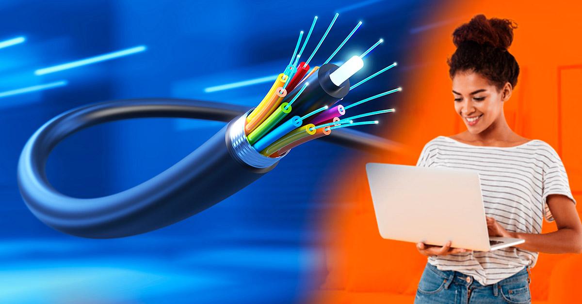 Internet de fibra óptica para hogares y condominios