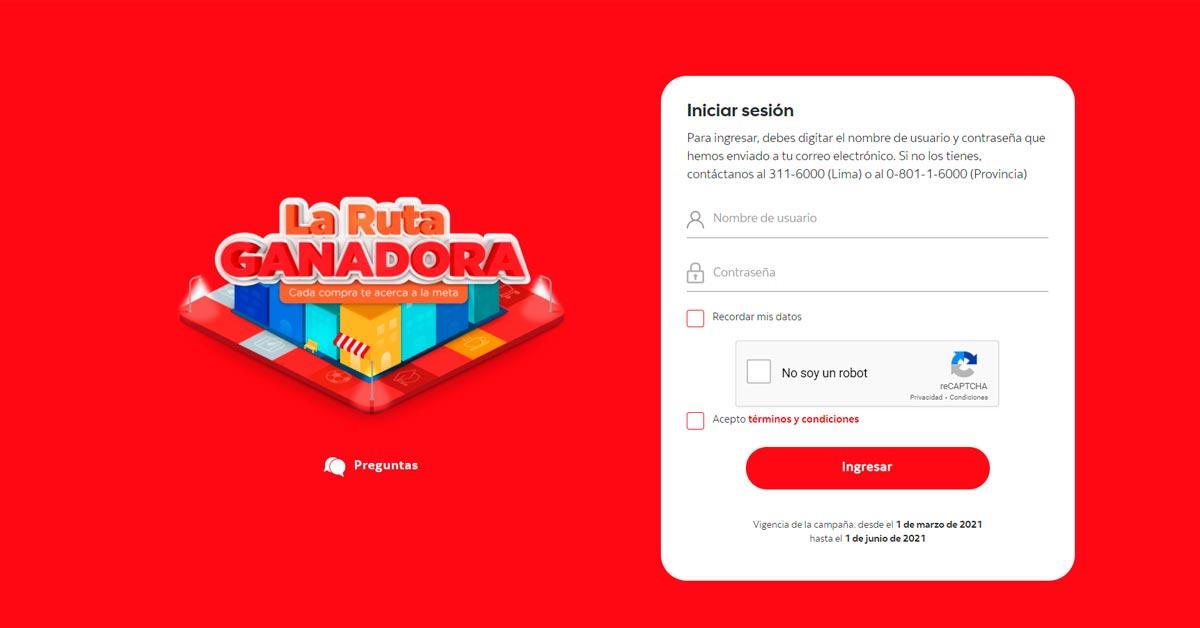 La Ruta ganadora de Scotiabank en el Perú